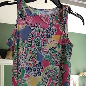 NWOT Colorful tank top